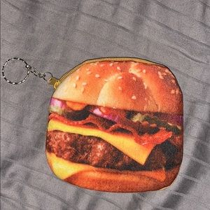 Cheeseburger keychain wallet from Pompeii Italy